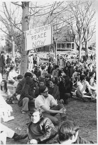 Thumbnail of Student demonstration in Amherst