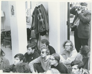 Thumbnail of Student sit-in demonstration
