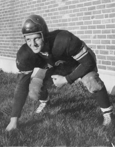Thumbnail of Unidentified football player
