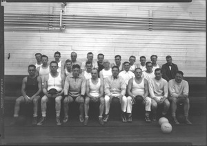 Thumbnail of Faculty volleyball, Massachusetts Agricultural College 1