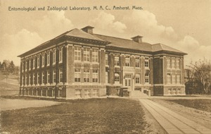 Thumbnail of Entomological and Zoological Laboratory, MAC, Amherst, Mass. [i.e. Fernald Hall]