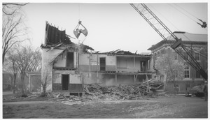 Thumbnail of Wrecking of the Mathematics Building (formerly the Entomology Building)