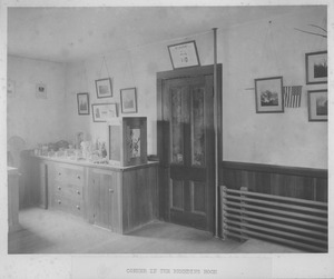 Thumbnail of Corner in the Breeding Room [interior of French Hall]
