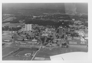 Thumbnail of Campus Views, Aerials - East 1970s