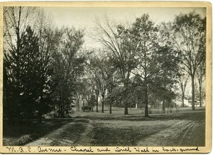 Thumbnail of M.A.C. Avenue, Chapel and Drill Hall in back-ground
