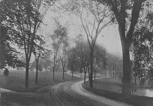Thumbnail of Campus Views, Roads and Walks ca. 1915-1918