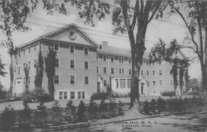 Thumbnail of Adams Hall, M.A.C., Amherst, Mass.
