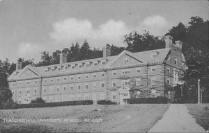 Thumbnail of Thatcher Hall, University of Mass. Amherst