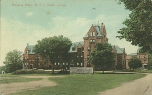 Thumbnail of Amherst, Mass., M.A.C., South College