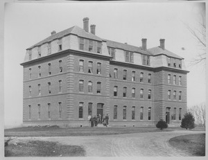 Thumbnail of South College dormitory room, Massachusetts Agricultural College