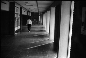 Thumbnail of View down hallway in Thompson Hall
