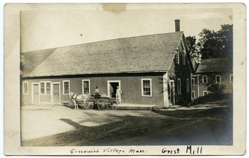 Grist mill, Greenwich Village, Mass.