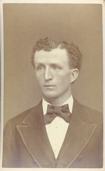 An image of: William Penn Brooks, ca.1875
