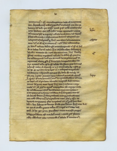 Psalterium [Psalter]. France. Latin text in caroline miniscule