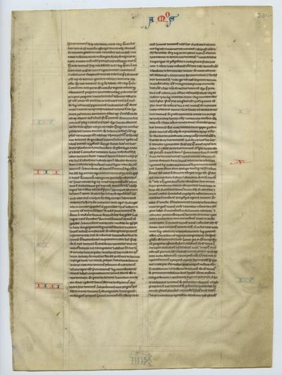 Biblia Sacra Latina, Versio Vulgata [Cambridge Bible]. England (Cambridge). Latin text in early angular gothic script