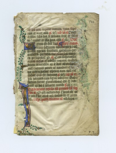 Breviarium [Breviary]. England. Latin text in angular gothic script