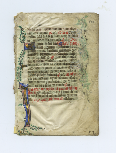 Breviarium [Breviary]. England. Latin text in angular gothic script, linking to the digital object