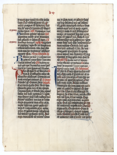 Missale [Missal]. Germany. Latin text in angular gothic script
