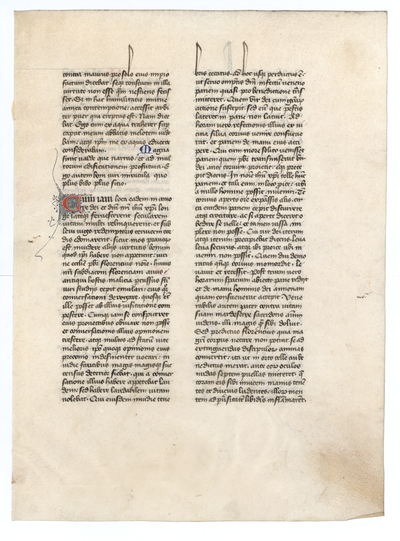 S. Gregorius Magnus, Dialogi [Dialogues of Gregory the Great]. France. Latin text in lettre batarde