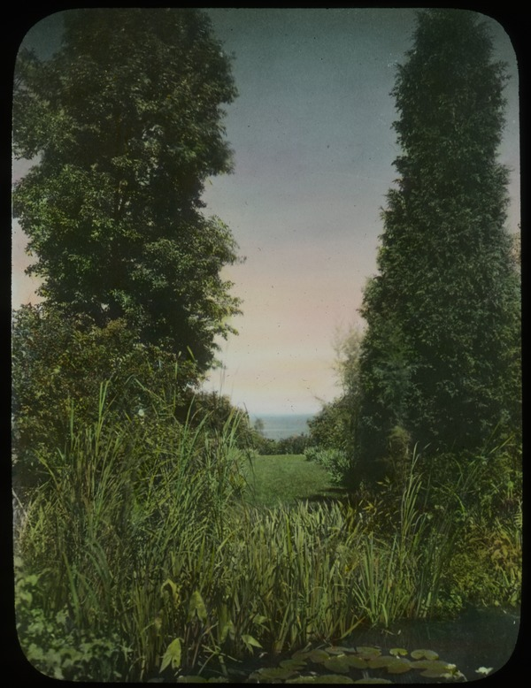 Rosenwald garden , Chicago view of Lake Michigan, Janes Jensen, undated