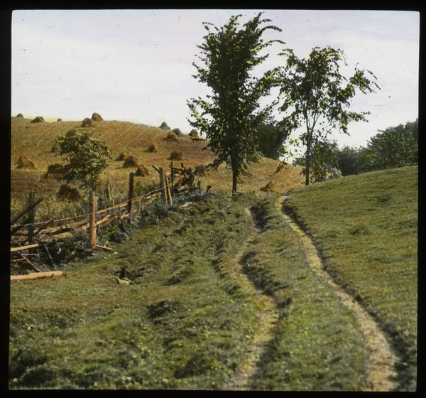 Hanover, NH(rolling fields at haying time), undated