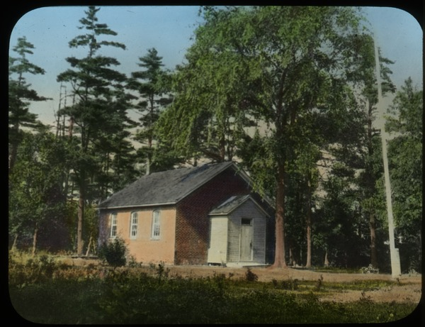 Country Schoolhouse, Canada (small red brick), undated