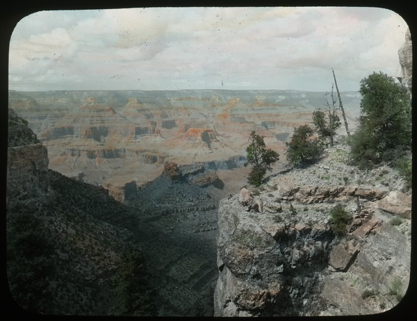Grand Canyon near Bright Angel Trail, ca. 1918