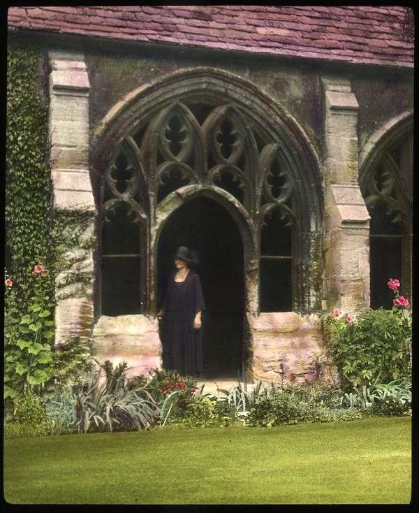 Cloisters, New College, Oxford, ca. 1936