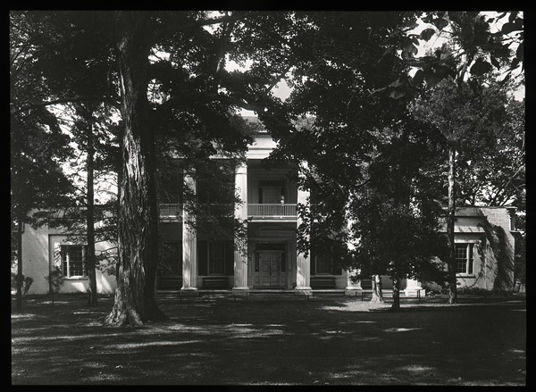 Unidentified Greek revival house, ca. 1925