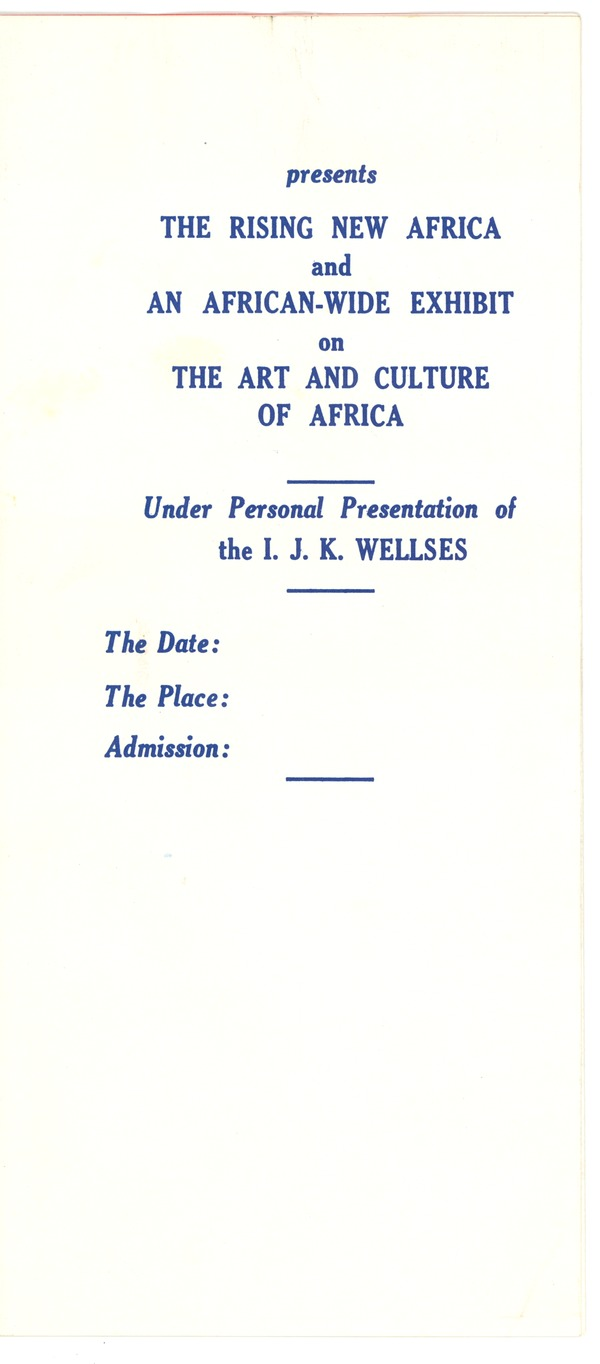 Africa, correspondence, January 3, 1959–May 26, 1959