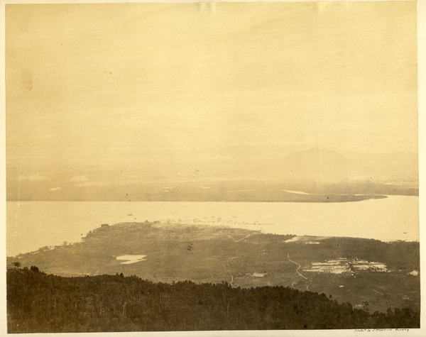 Opening & Port of Province Wellesley From the Gt. Hill, Penang, ca. 1863