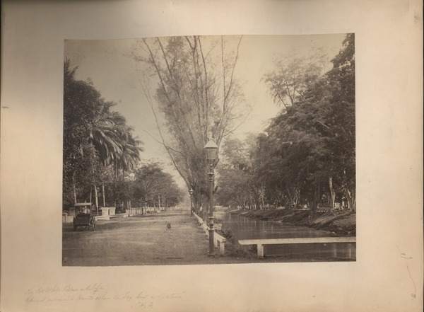 View at Tanah Abang, Batavia, ca. 1865