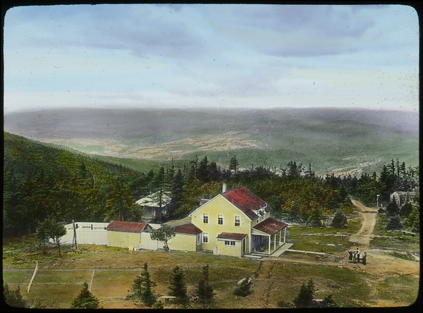Top of Mt. Greylock (large yellow house), undated