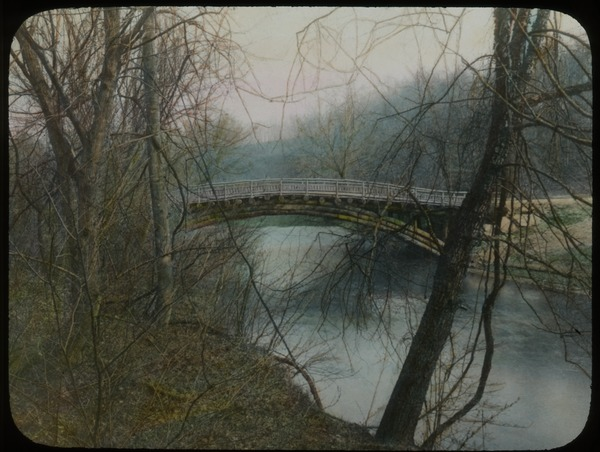 Wood arch bridge, Rock Creek Park, ca. 1925