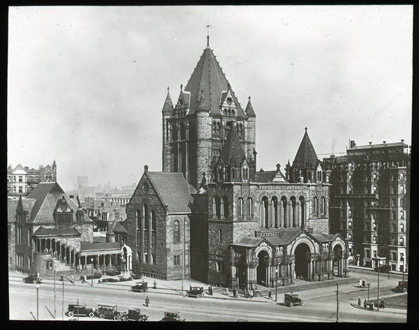 Trinity Church, Copley Square, ca. 1925