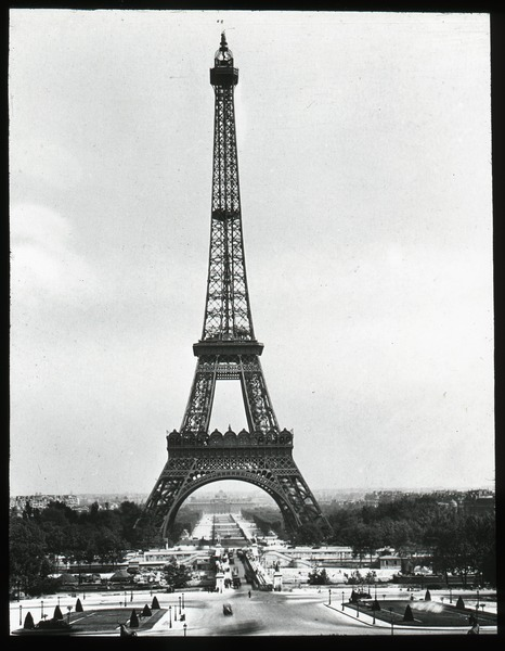 Eiffel Tower, ca. 1920