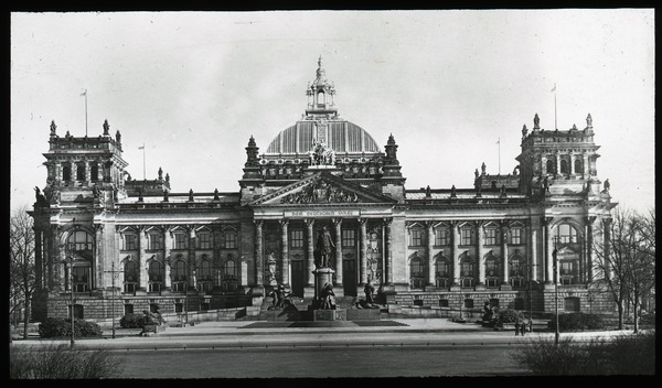 Reichstag Building, ca. 1900