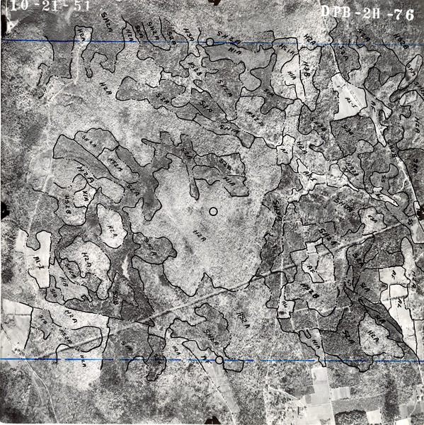 Hampshire County: aerial photograph, October 21, 1951