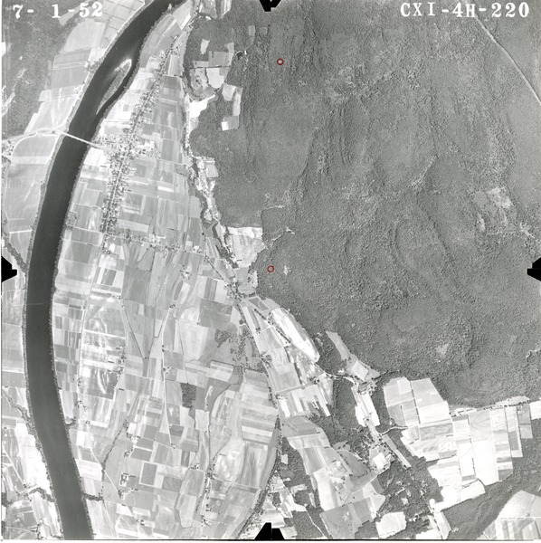 Franklin County: aerial photograph, July 1, 1952