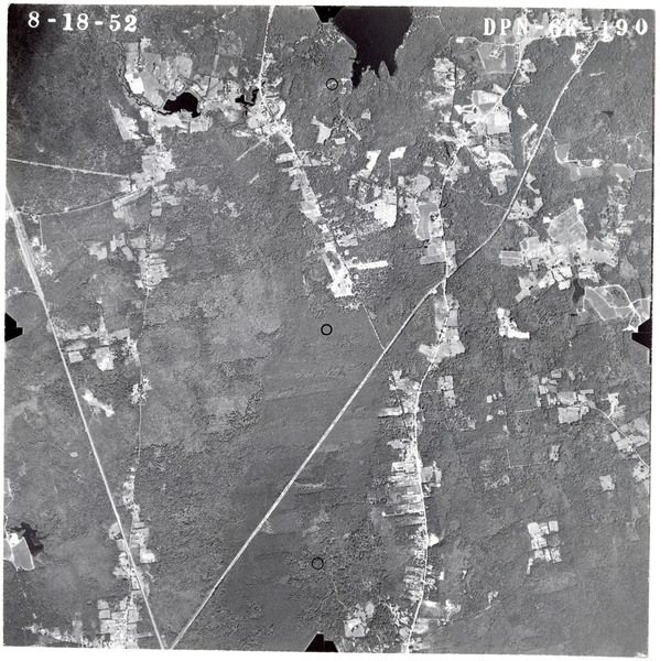 Bristol County: aerial photograph, August 18, 1952