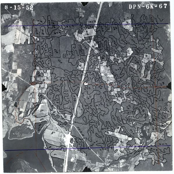 Bristol County: aerial photograph, August 15, 1952
