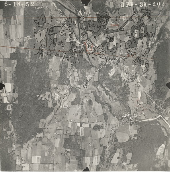Worcester County: aerial photograph, June 18, 1952