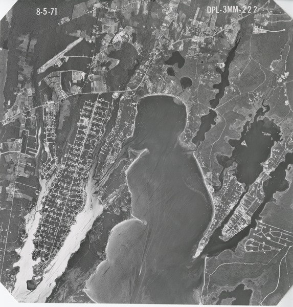 Barnstable County: aerial photograph, August 5, 1971