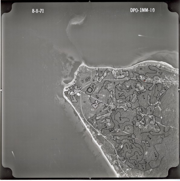 Dukes County: aerial photograph, August 8, 1971