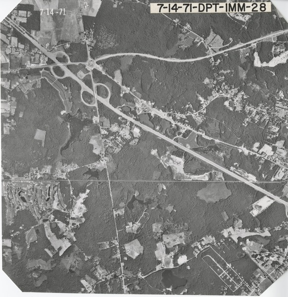 Plymouth County: aerial photograph, July 14, 1971