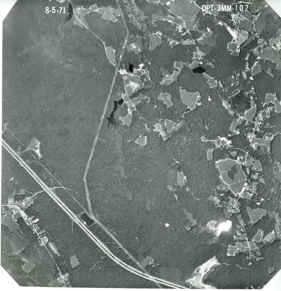Plymouth County: aerial photograph, August 5, 1971