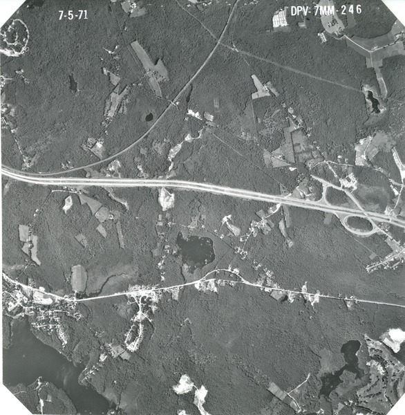 Worcester County: aerial photograph, July 5, 1971