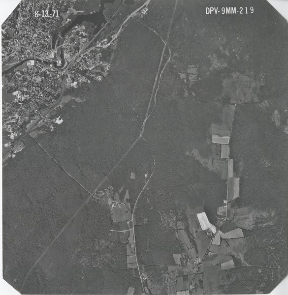 Worcester County: aerial photograph, August 13, 1971