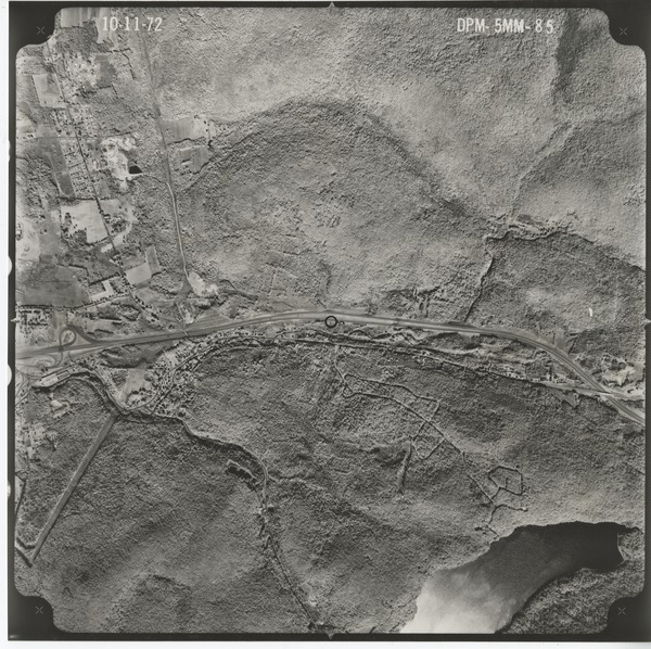 Berkshire County: aerial photograph, October 11, 1972
