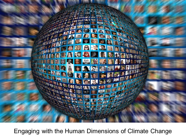 Engaging with the human dimensions of climate change, May 13, 2017
